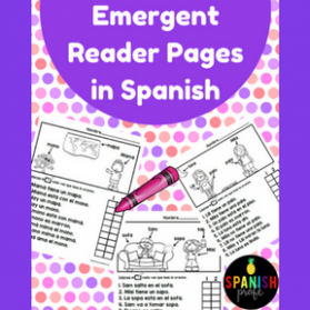 Easy Reader pages in Spanish (Lectura facil en español)
