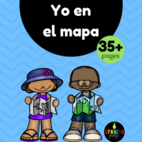 Yo en el mapa (Map Skills Unit in Spanish)
