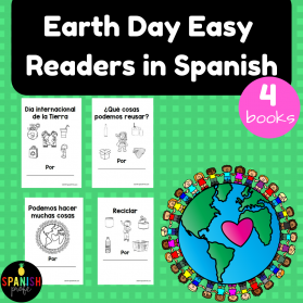 Earth Day Easy Readers in Spanish (Libros faciles dia de la Tierra)